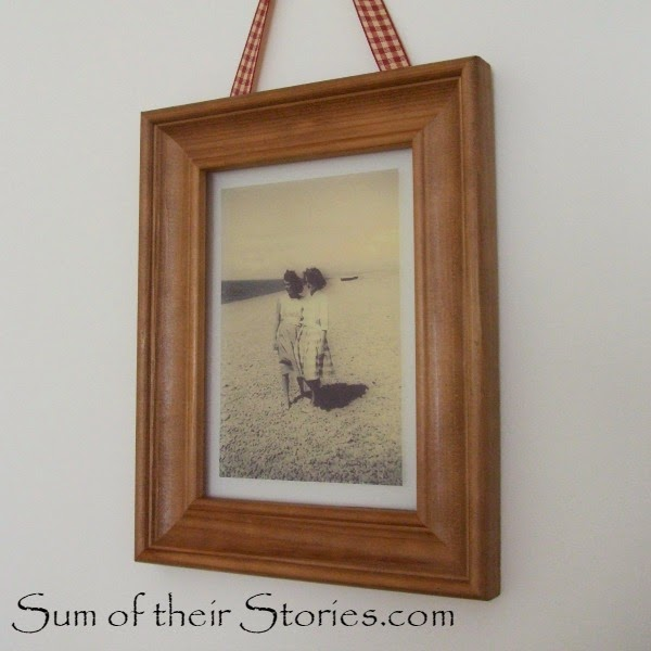 floating frame DIY idea
