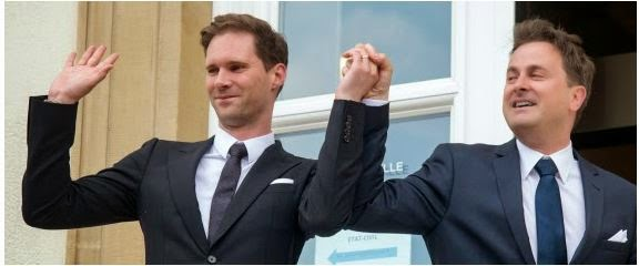 Aww!!...Luxembourg's Prime Minister's wedding to gay partner.