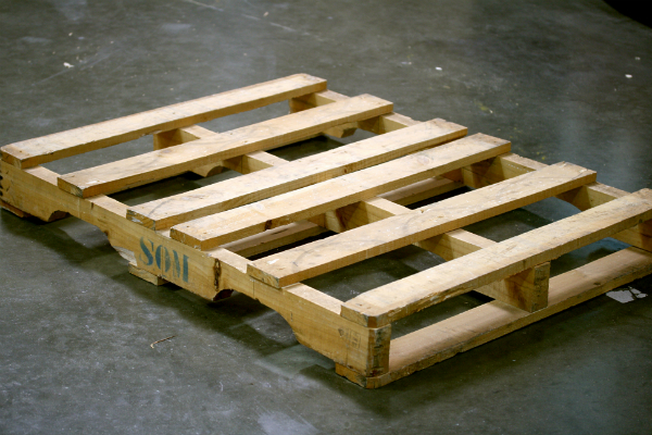 Before we can get started on our pallet shelves, we need an actual ...
