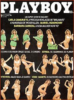 Carla Camuratti Playboy 1982