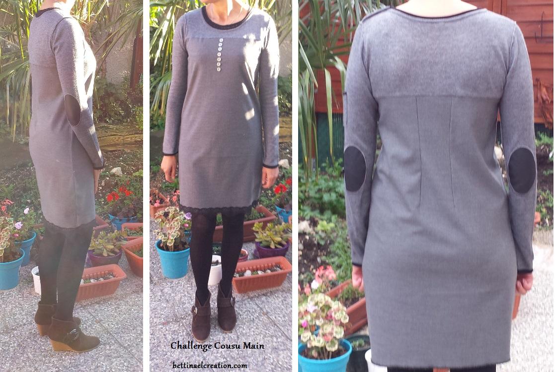 Assez Challenge Cousu Main Robe à customiser Bettinael.Passion.Couture  PY94