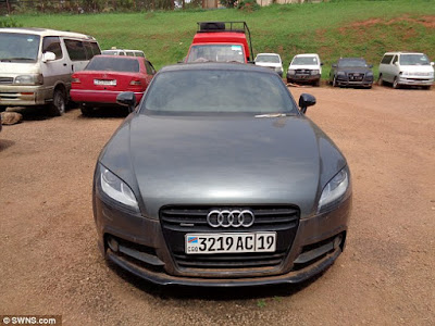 Detectives Trace 29 stolen British cars wasteland in Uganda !
