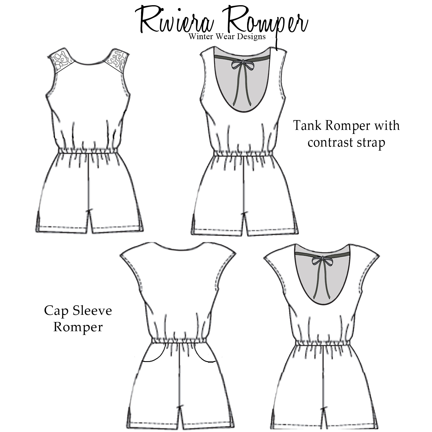 Free Romper Pattern New Inspiration Design
