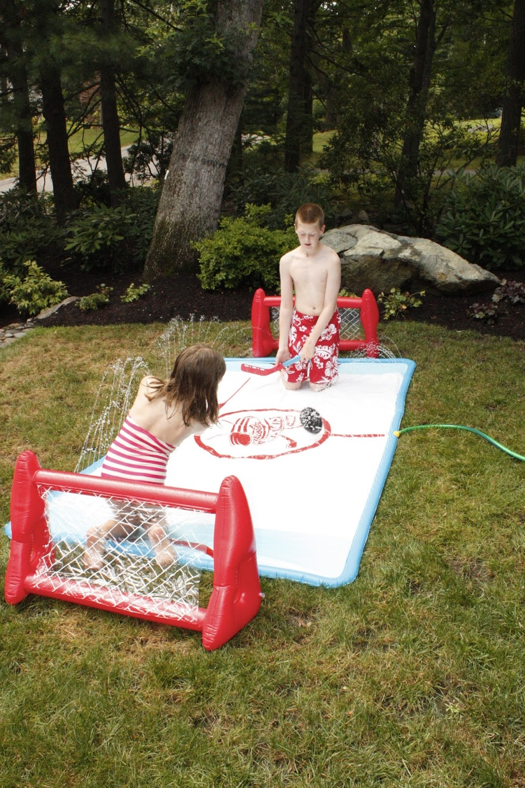 it u0027s the elliot way slip n slide hockey