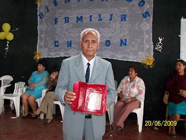 Reconocimiento a Benito Chotón Villar