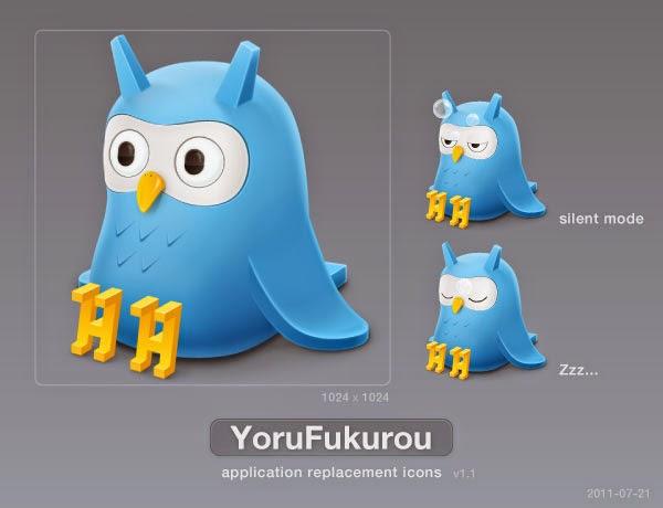 YoruFukurou Twitter Icons