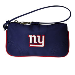 New York Giants NFL Wristlet Purse