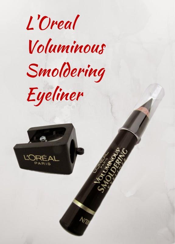 Check out L'Oreal's Voluminous Smoldering Eyeliner with Conal Kajal tip and Custom Sharpener