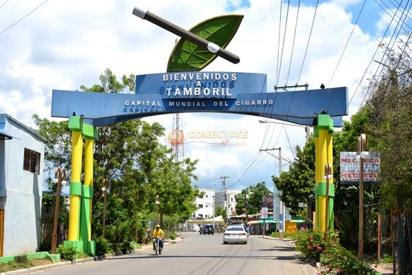 La entrada de nustro Tamboril