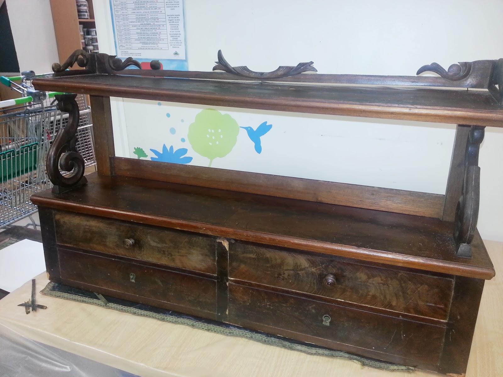 Meuble ancien r novation en cours cours de bricolage - Renovation de meubles anciens ...