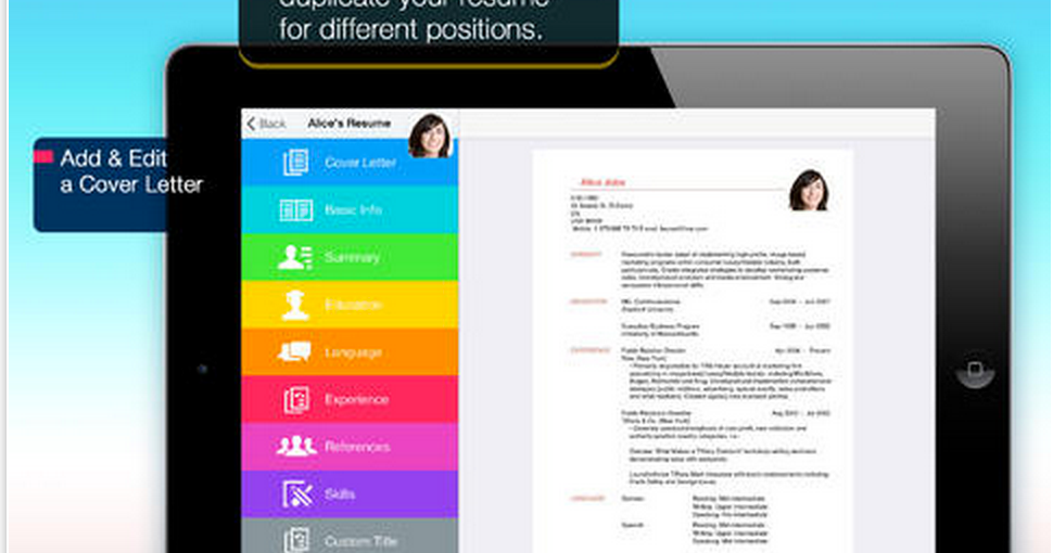 Resume Pro is Free Today: Easily Create Beautiful Resumes
