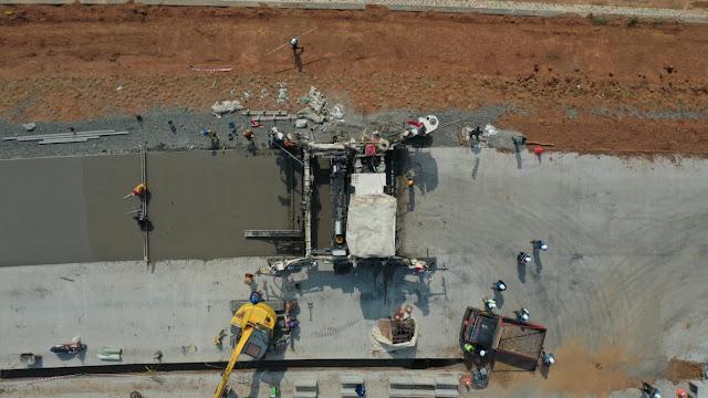 Pembangunan Jalan Tol Akses BIJB Kertajati