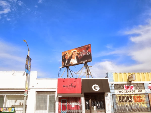 Saving Mr Banks billboard