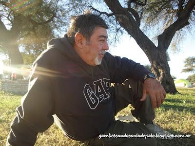 José me recibió en Villa Atamisqui - Gambeteandoconladepalo