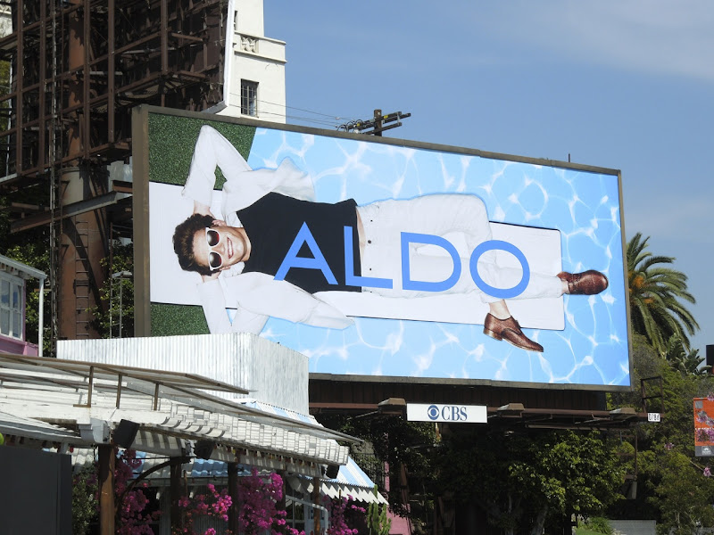 Aldo diving board ad