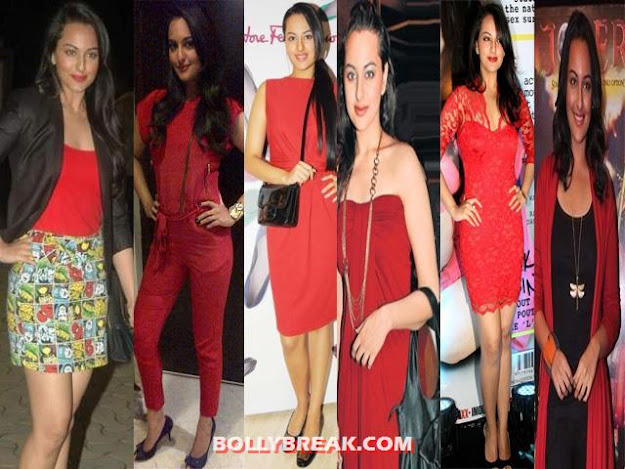 red outfits 3 - (3) - Bollywood Starlets in RED