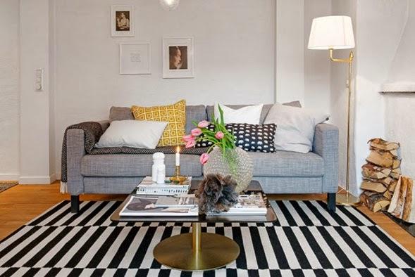 foto sala pequeño apartamento