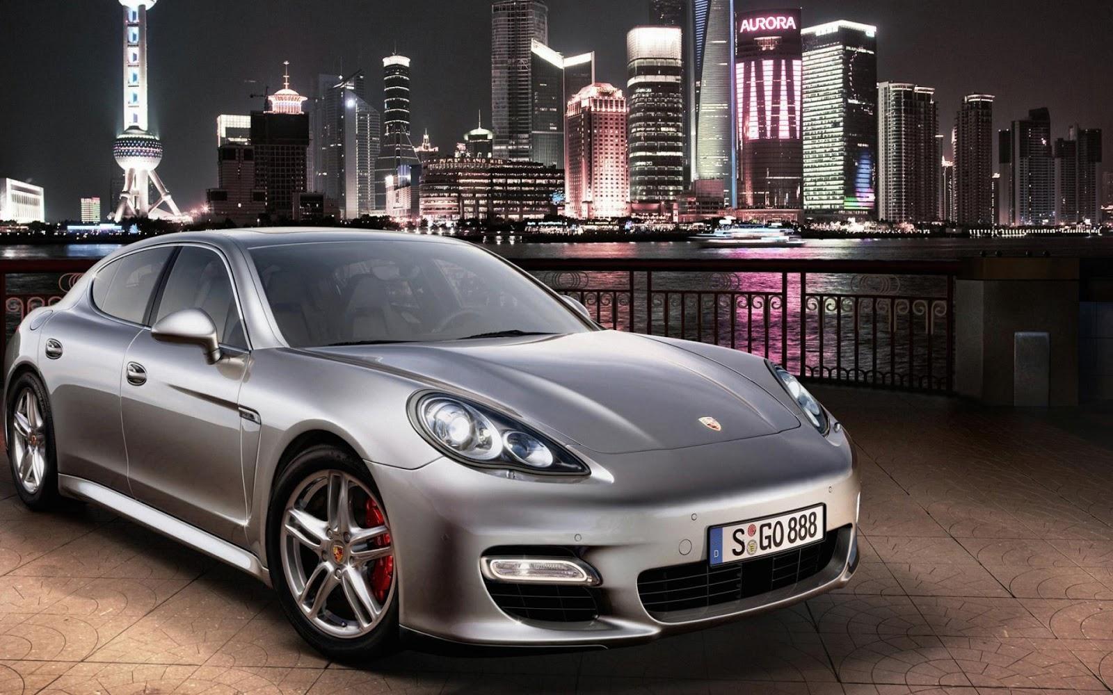 Porsche Panamera in Asia
