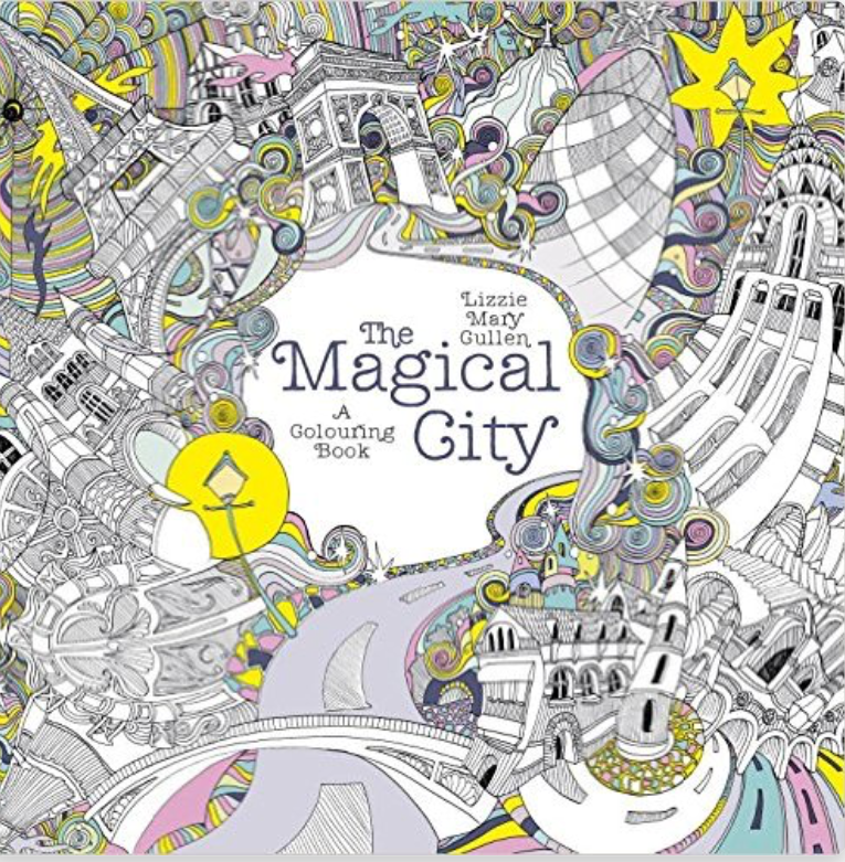 Off The Shelf Books The Magical City Adult Colouring