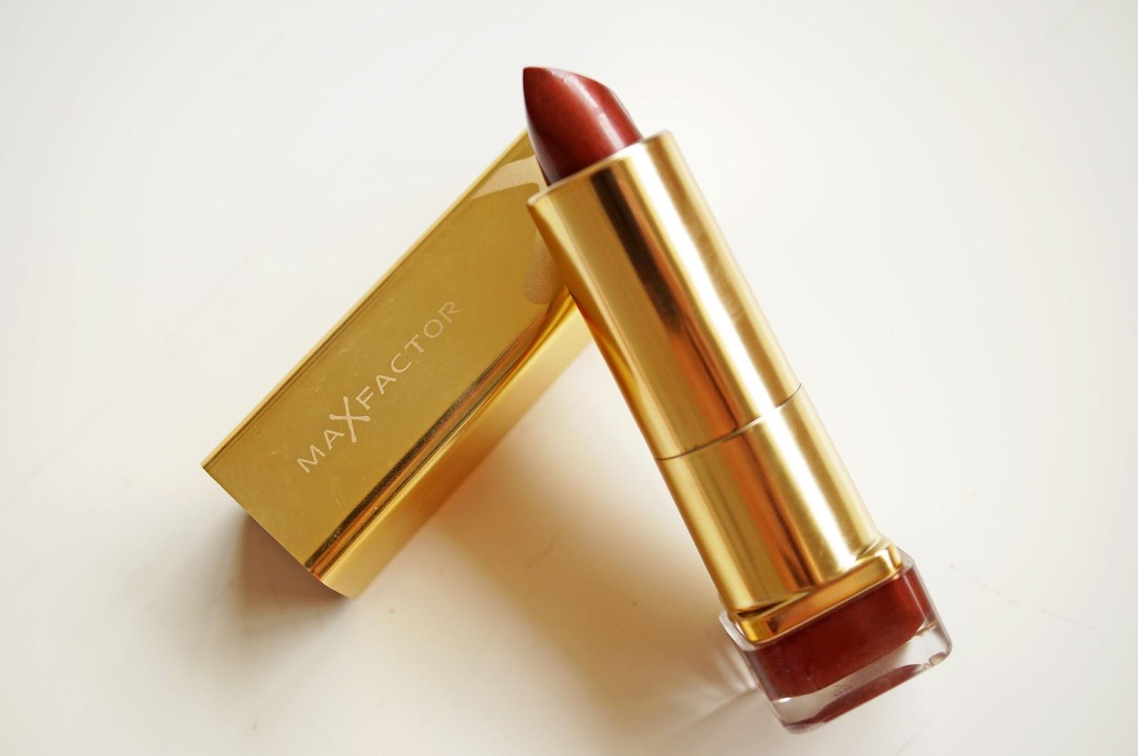 Max Factor Bronze Lipstick