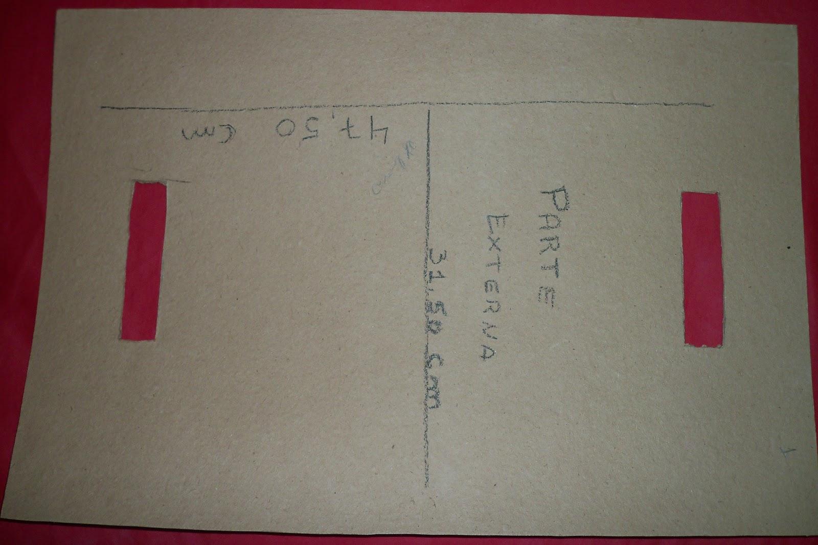 Bolsa De Mao Em Cartonagem Passo A Passo : Ema artes molde de bolsa carteira em cartonagem