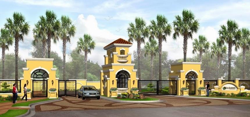 Le Jardin de Villa Abrille - Ma-a, Davao City Entrance Gate