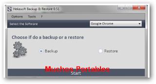 Hekasoft Backup & Restore Portable
