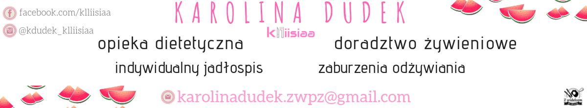 Karolina Dudek - doradca żywieniowy