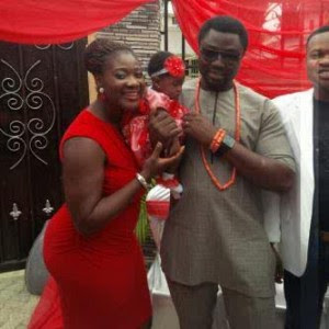 Mercy Johnson dedicates daughter Purity Okojie..