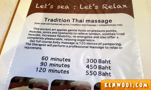 thailand traditional thai massage