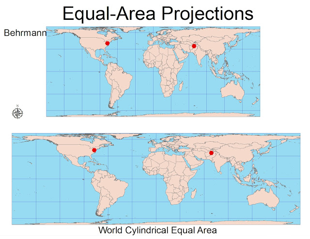 cylindrical equal area projection pdf