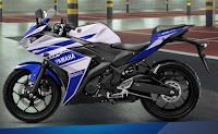 Motor Yamaha R 25 Racing Blue