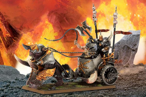 Carro del Caos y el Carro de Bestia Sangrienta
