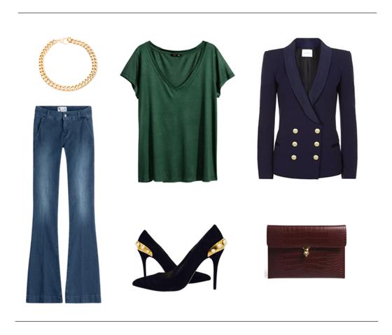 Ideas para llevar pantalones de campana