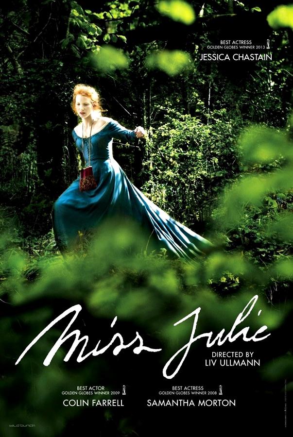 Poster: Miss Julie, de Liv Ulmann