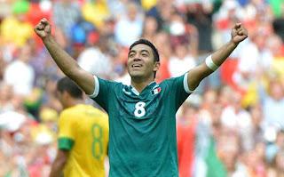 Perayaan Mexico Juara