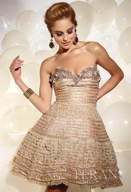 Vestidos cortos de fiesta terani 2012 18 - Gen� K�z Abiye Modelleri