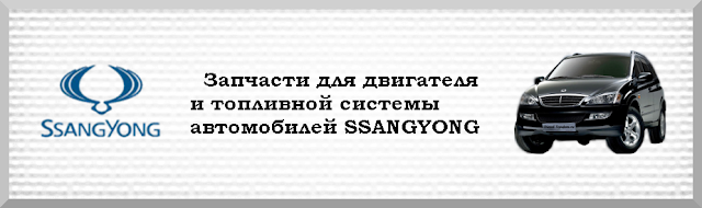 Форсунки и ТНВД SSANGYONG