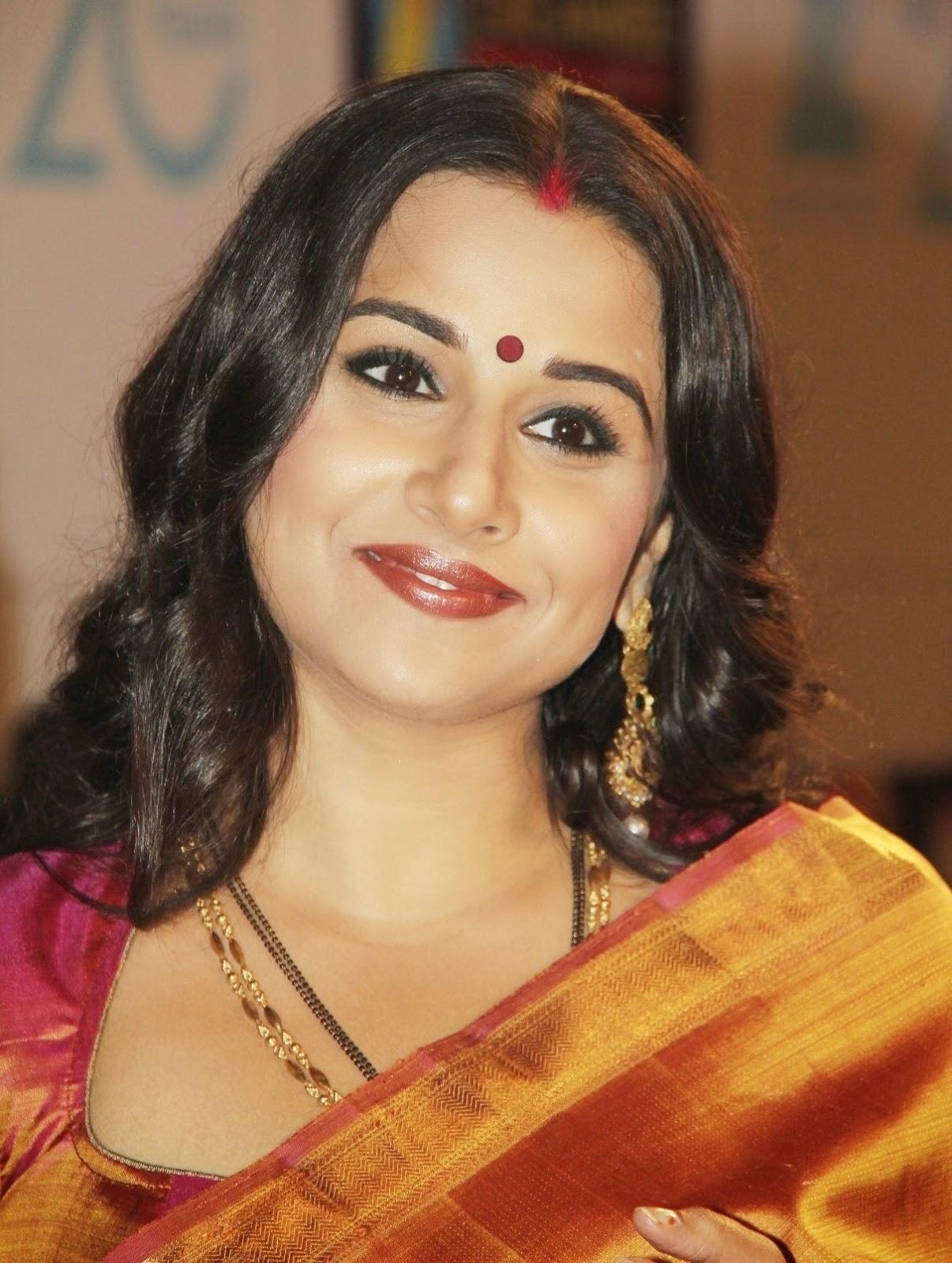 vidya balan in saree photo