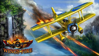 Screenshots of the Wings on fire for Android tablet, phone.