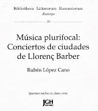 Música Plurifocal. Rubén López-Cano