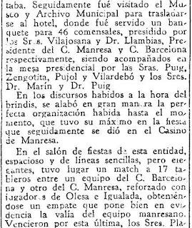 Festival ajedrecista en Manresa en 1933 (3)