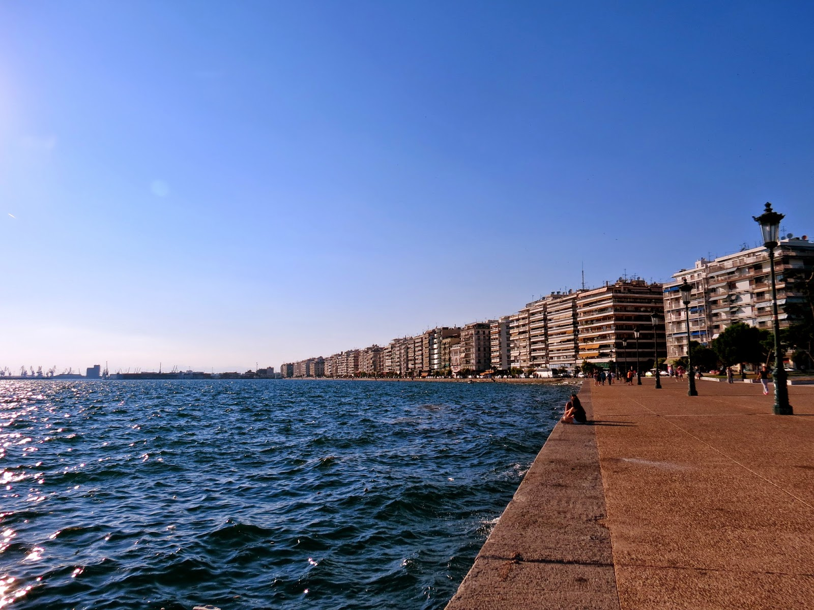 Thessaloniki waterfront