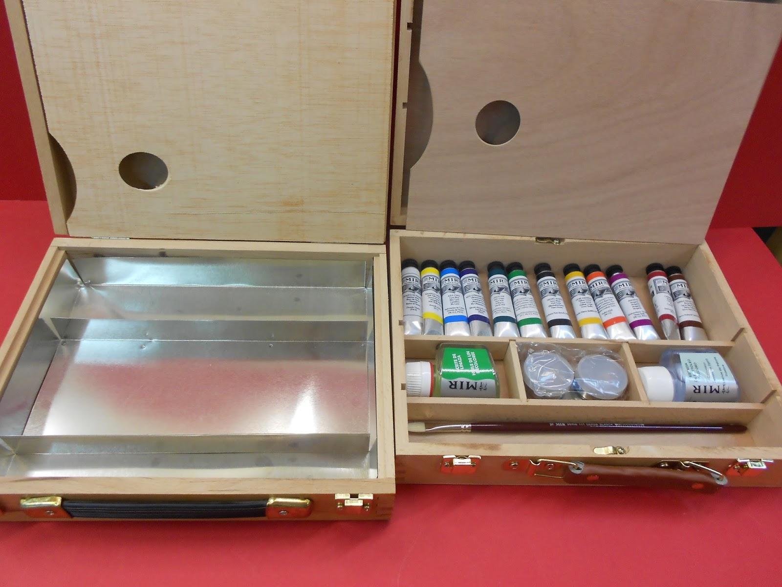Manualidades y bellas artes zig zag avda arag n 13 alca iz - Manualidades pintar caja metal ...