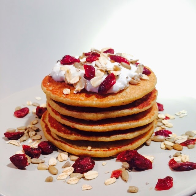 Healthy Protein Cottage Cheese Pancakes Recipe