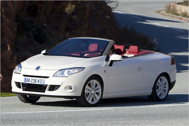 renault megane coupe cabriolet special edition floride garage car. Black Bedroom Furniture Sets. Home Design Ideas