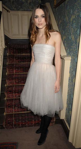 Kiera Knightley's wedding dress have we seen it before?