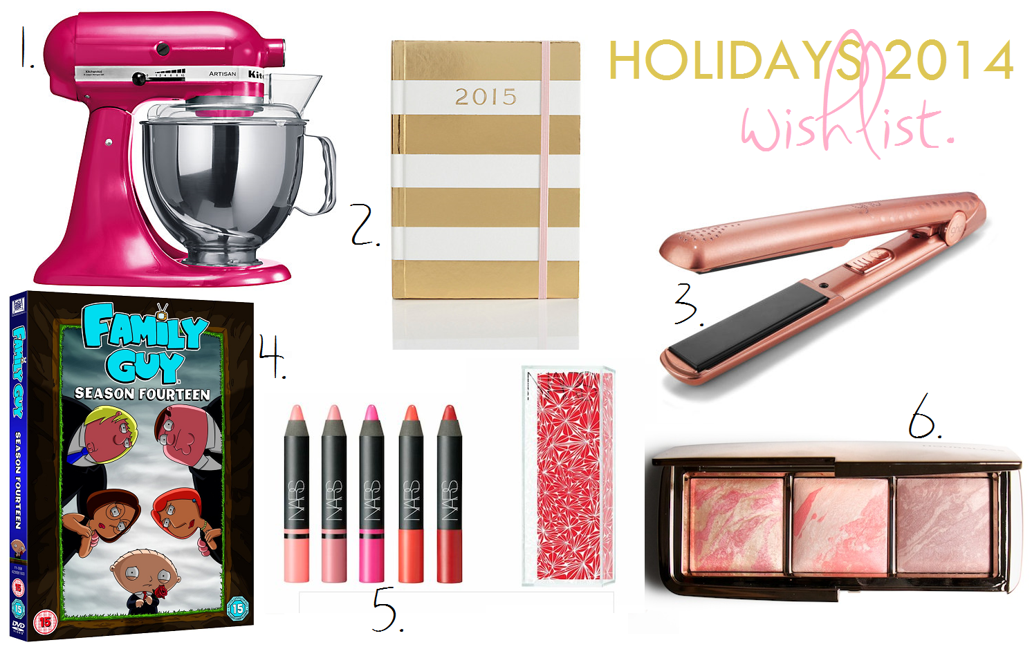 Holidays Wishlist 2014