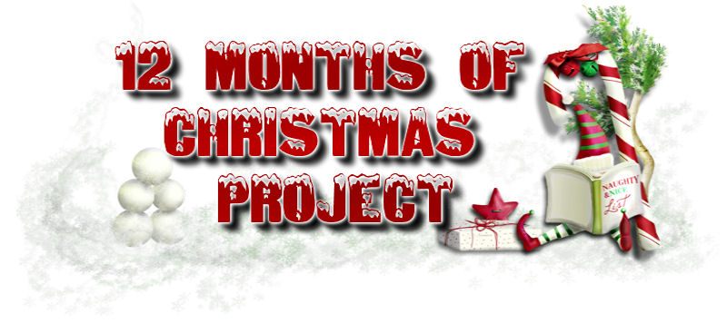 12 Months of Christmas Project