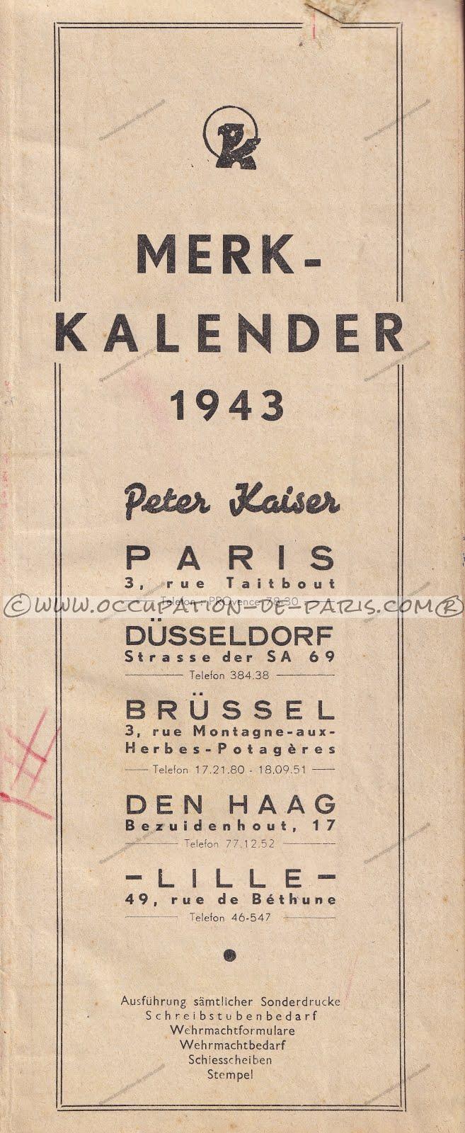 Agenda Peter Kaiser